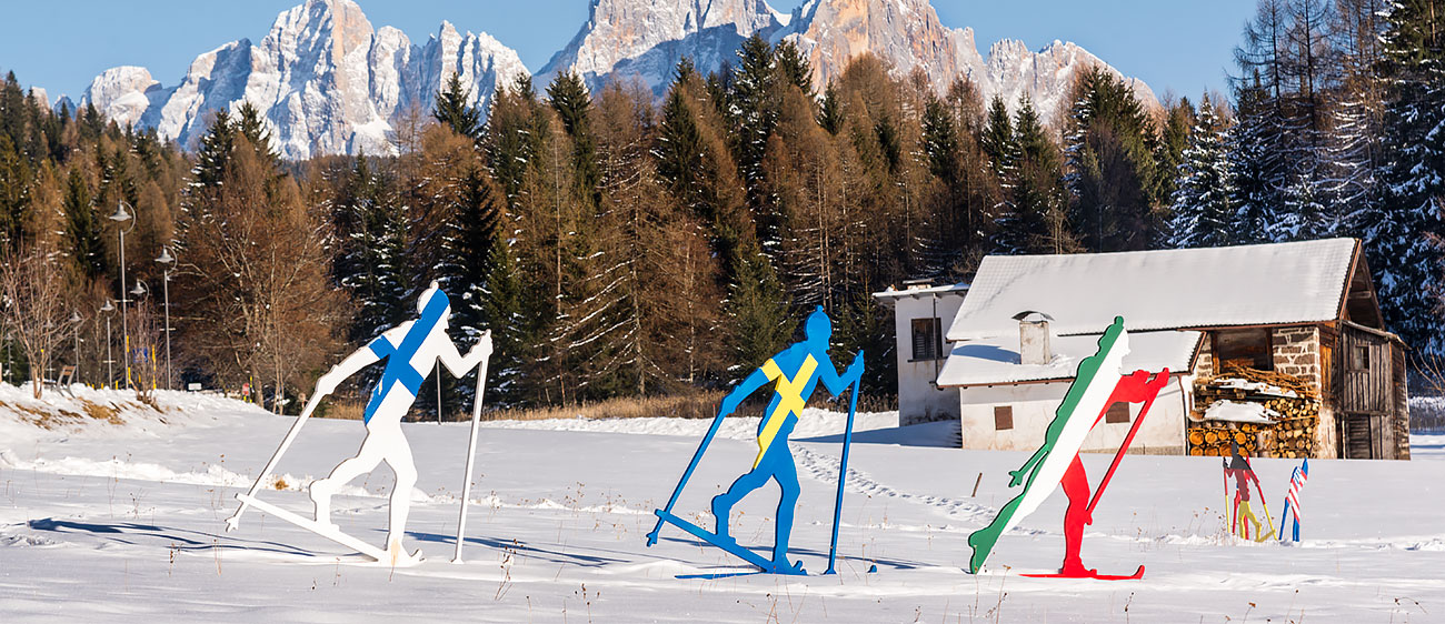 Cross Country Skiing in Bellamonte