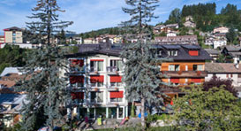 Hotel Azalea is located at Cavalese, tourism region val die Fiemme